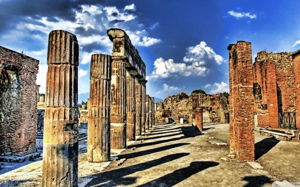 Pompei et Sanctuaire de Notre-Dame du Saint-Rosaire