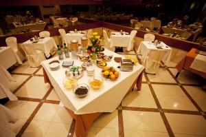 Hotel near Nola with rich breakfast