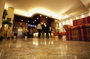 The hall of a 4 stars Hotel close to Napoli - Hotel Augustus